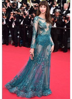 81-Frederique-Bel---Premiere-of-La-Tete-Haute-at-the-68th-Annual-Cannes-International-Film-Festival